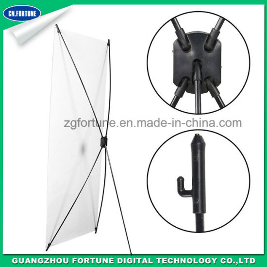 Fiber Glass Foldable X Banner Stand
