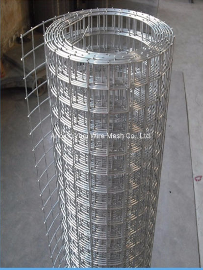 """ISO 1"""" Hot DIP Galvanized Welded Wire Mesh Lowest Price"""