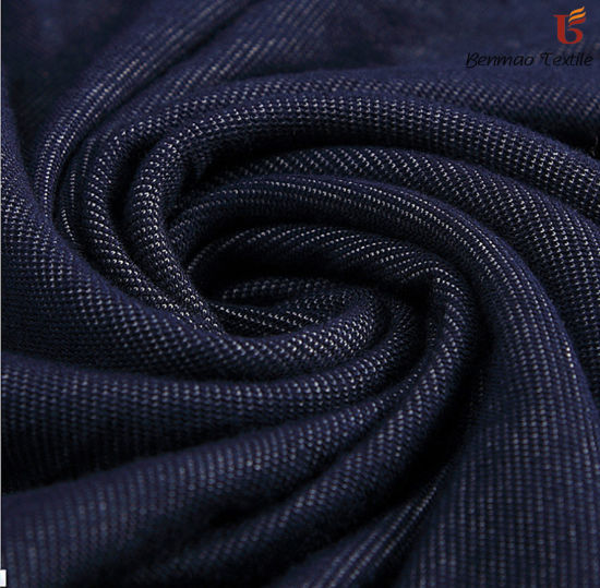 Polyester/Cotton Denim/Denim Fabric Stretch Denim Fabric /Jeans pictures & photos