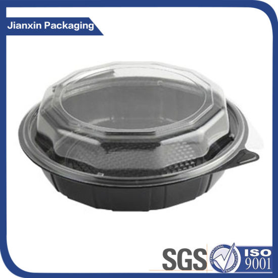 Plastic Food Container with Clear Cover pictures & photos