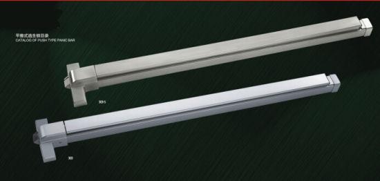 China High Quality Zinc Alloy Exit Door Hardware Push Bar