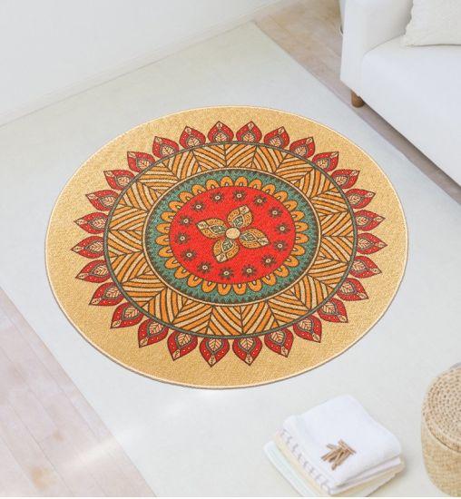 Wholesale Soft and Eco-Friendly Kitchen Floor Mat Rubber Carpet Modern Door Mat