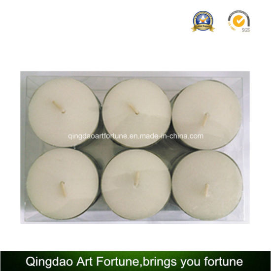 100PC Valude Packed 14G White Tealight Candle pictures & photos