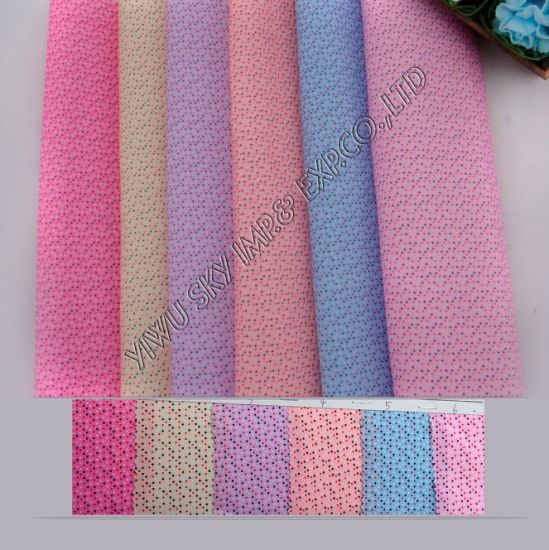 High Quality Stock 100%Polyester Printed Microfiber Fabric 60GSM Width 150cm for Hometextile
