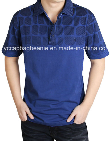 100%Cotton High Quality Men′s Polo Shirt pictures & photos