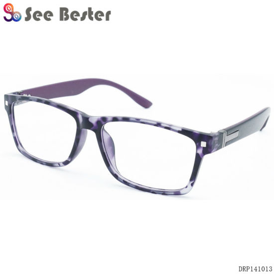 ee86c18042d Men Style Design Plastic Optimum Magnifying Wholesale Eyewear Frames  Reading Glasses with Metal Decoration