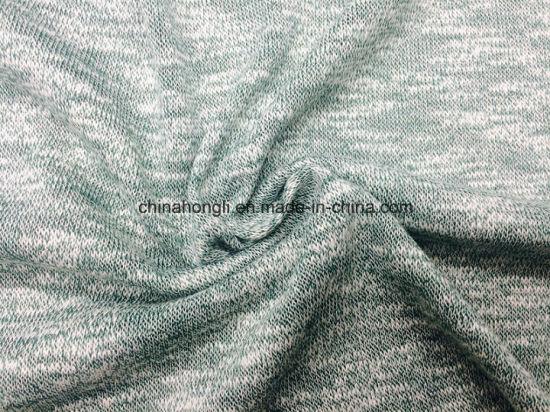 Hacci T/C 60/40, 150GSM, Slub Yarn Single Knitting Fabric for Outerwear