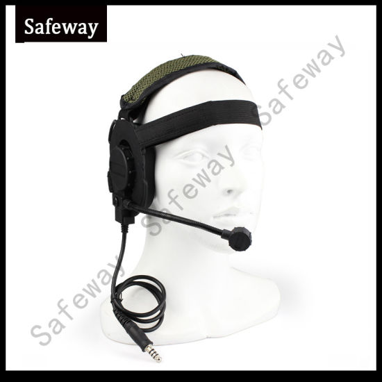 Walkie Talkie Tactical Headset for Kenwood Wouxun pictures & photos