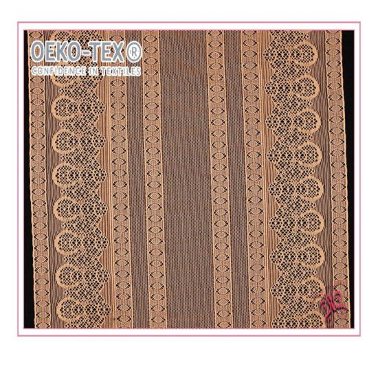 High Quality African Cotton Embroidery Flimsy Lace Fabrics for Bridal