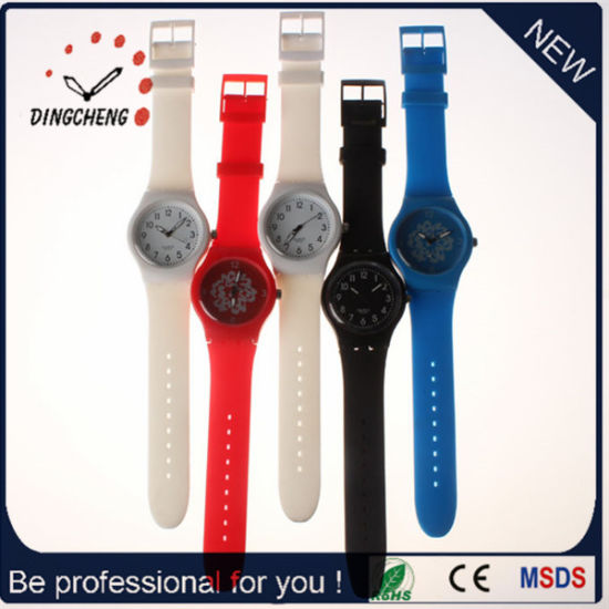2015 Long Band Watch Swiss MOV Silicone Watch (DC-991)