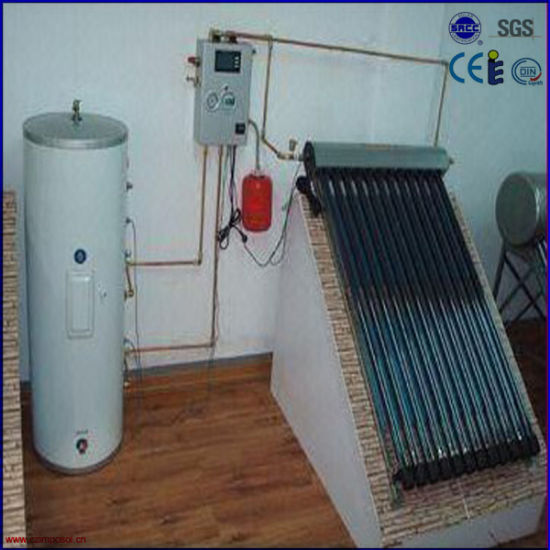 Split Double Coil Thermosyphon Solar System
