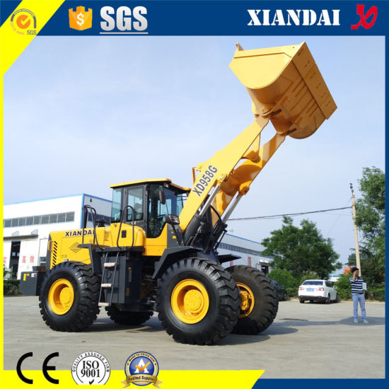 Heavy Earth Moving Wheel Loader Zl50 5 Ton Rated Load Xd958g pictures & photos