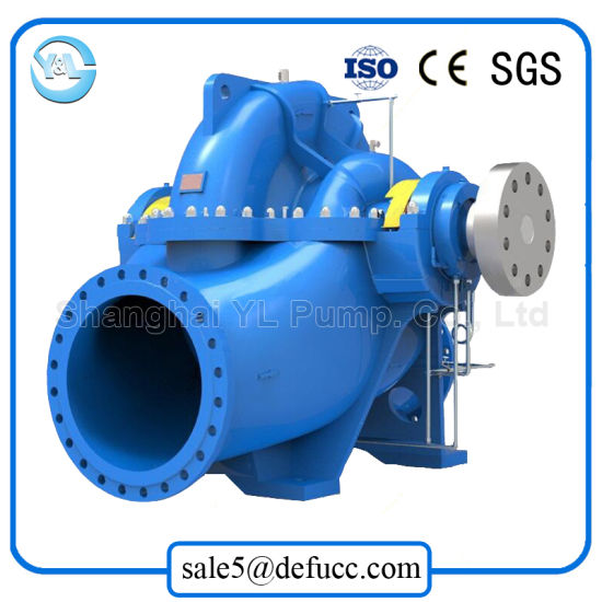 Tpow Series Double Suction Waterworks Centrifugal Pump pictures & photos