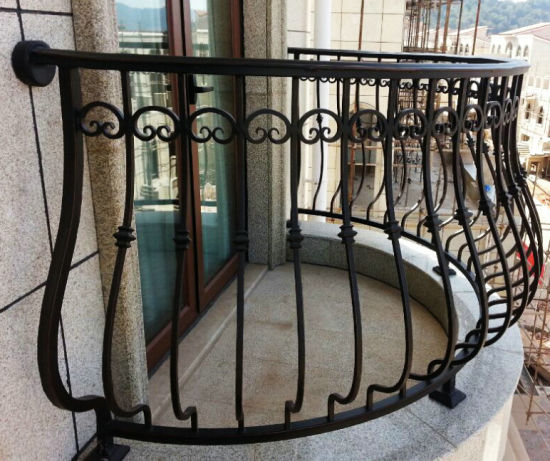 Superior Quality Wrought Iron Rail in Concise Style pictures & photos