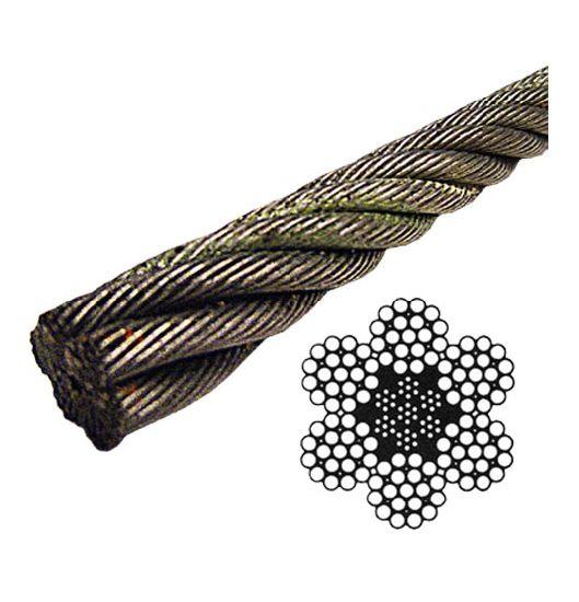 China 6X19 Iwrc Class Galvanized Wire Rope Eips (Steel Core) - China ...