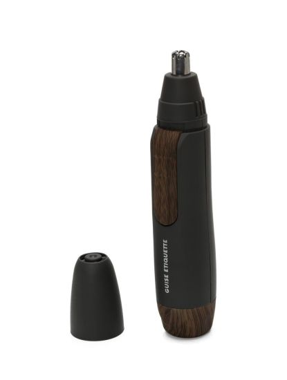 Nose Hair Trimmer Electric Portable Men's Nose Hair Shaving Device, Nose Hair Ear Hair Eyebrows Beard and Temple Implants