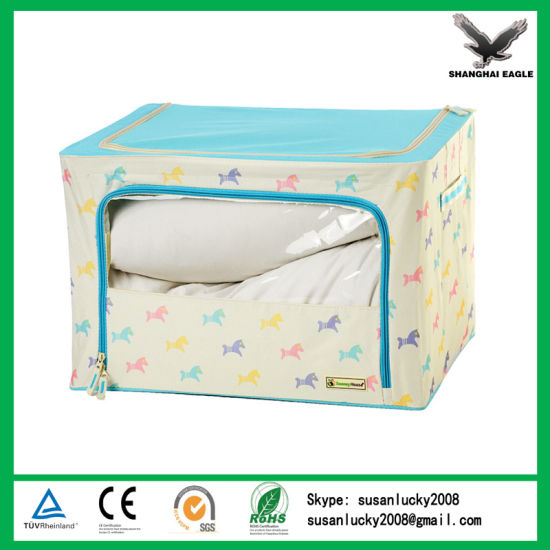 Home Storage Wholesale 600d Oxford Fabric Different Style Foldable Storage Box pictures & photos