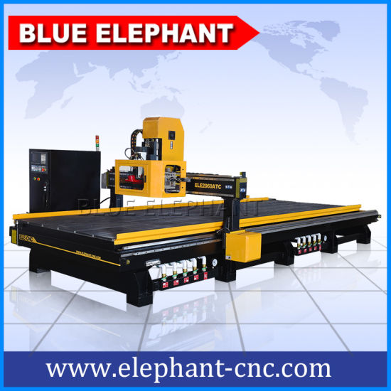 Blue Elephant CNC Atc Mill Router Machine with Taiwan Syntec 6MB Control System pictures & photos