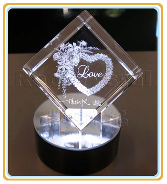 3D Laser Engraving Machine for Crystal Gift, High Speed pictures & photos