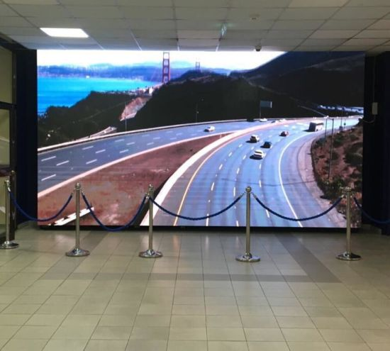 P3 / P4 / P5 / P6 Indoor Front Service Full Color LED Display Screen LED Videowall