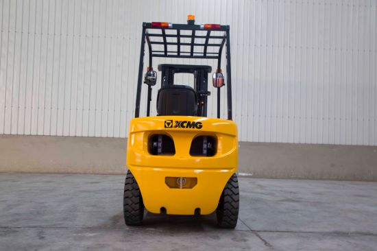 XCMG New Factory Price 3.5 Ton Manual Hydraulic Diesel Forklift Truck pictures & photos