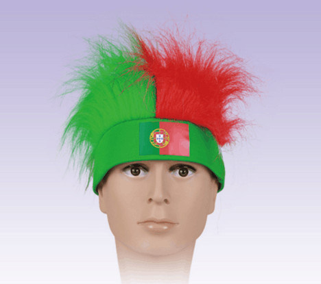 World Cup Wig/ Soccer Wig/ Soccer Accessories