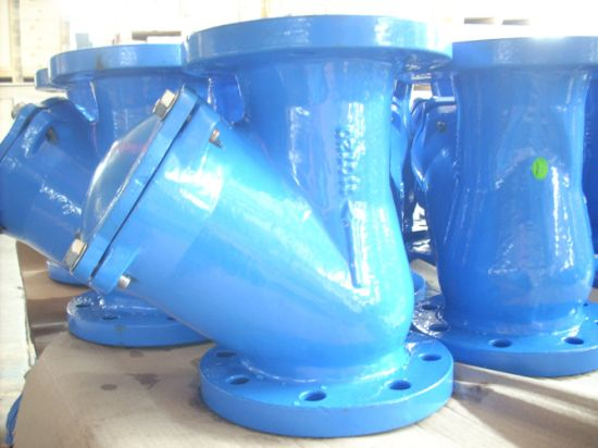 BS Table E Ductile Iron Ball Check Valve with PE Coating