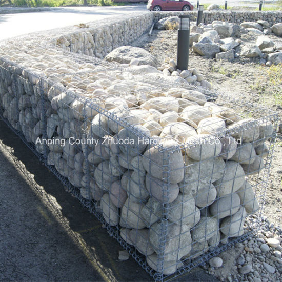 Amazon Ebay′s Choice Galvanized Wire 4mm Mesh 5X10cm Metal Stone Gabion (SG) pictures & photos