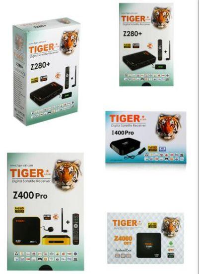 [Hot Item] Tiger Star T3000 Z280+ I400PRO Z400PRO Z4000 Ott Android TV Box  H  265 Digital Satellite Receiver