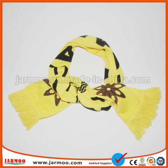 Promotional Fan Soccer Team Scarf pictures & photos