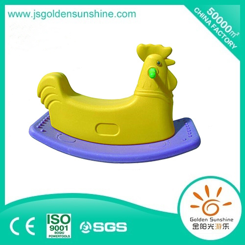 Kids' Plastic Rocking Horse for Fun