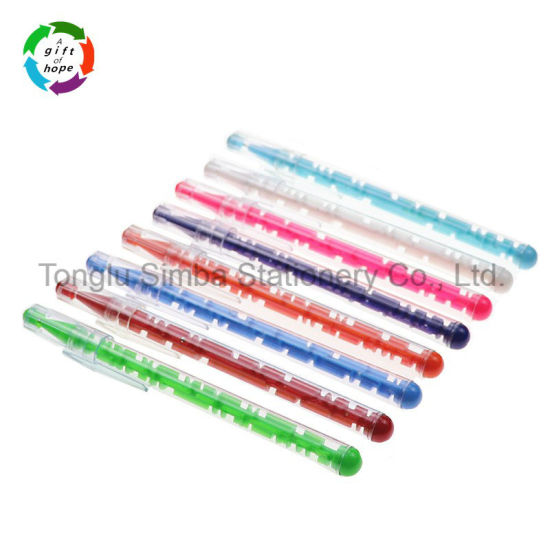 Hot-Selling with Logo Plastic Ball Point Pen Maze Pen Puzzle Pen for Promotional Gift pictures & photos