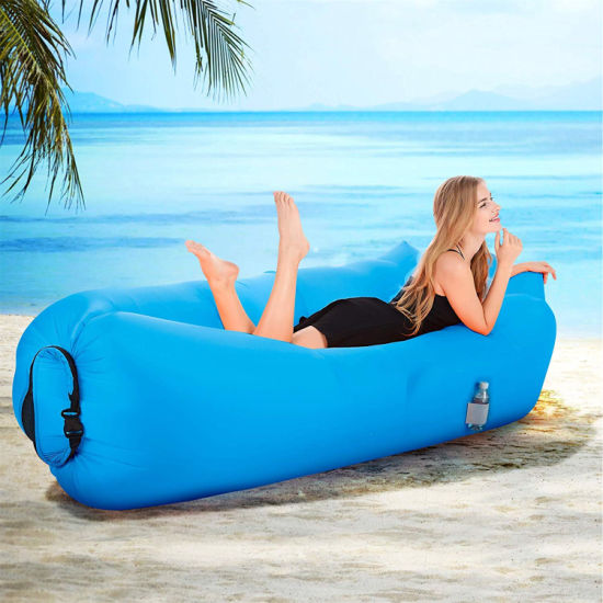 New Design Outdoor Portable Inflatable Air Sofa Bed OEM Factory