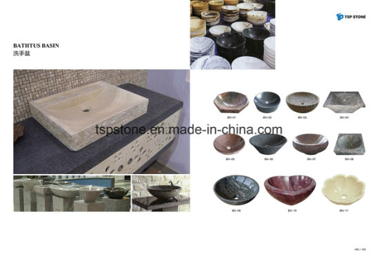 Natural Granite/Marble Stone Vessel for Bathroom Basin/Sink pictures & photos