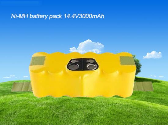 China 14 4V 3000mAh Ni-MH Battery for Irobot Roomba 500 510
