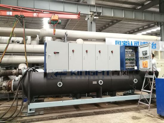 Direct Cooling Falling-Film Magnetic Levitation Centrifugal Chiller for Anodizing pictures & photos