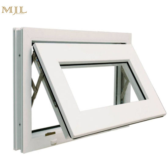China Small Size Frosted Glass Exterior Bathroom Aluminum Top Hung ...