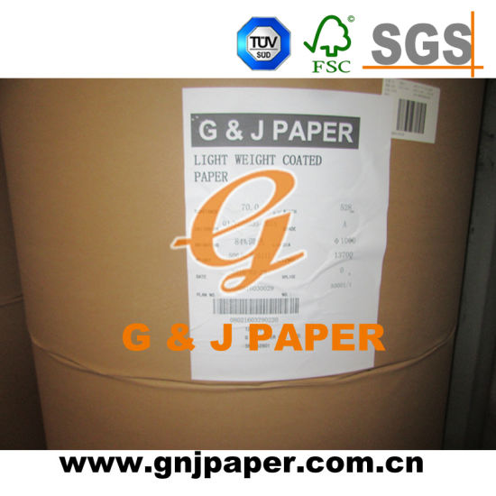 100GSM Coated Glossy Art Paper with Cheap Price pictures & photos