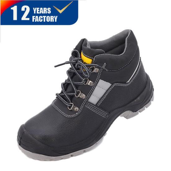 Industrial Work Engineering Mans Safety Shoes Steel Toe Cap