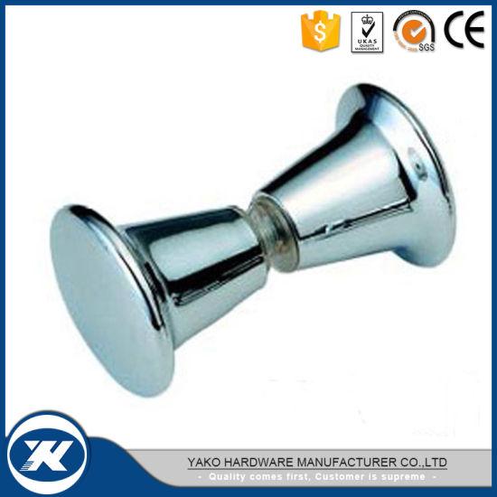 China Yako Bathroom Hardware Commercial Home Shower Glass Door Knob - Commercial bathroom door hardware