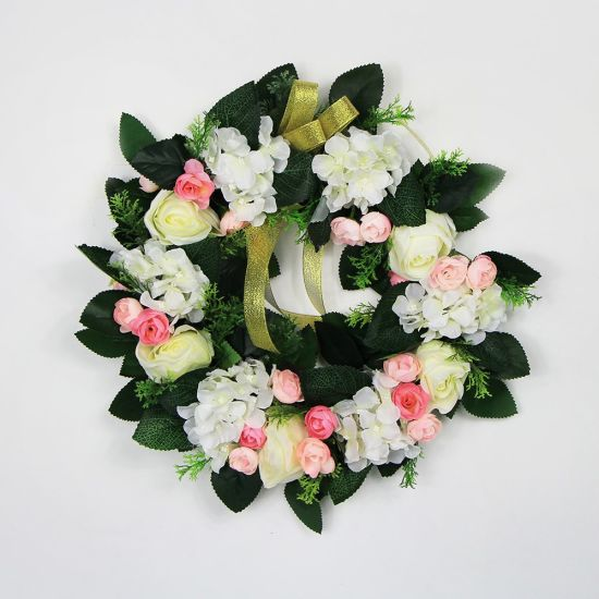 2017 New Design Home Wall Decor Garland Wreath for Gifts