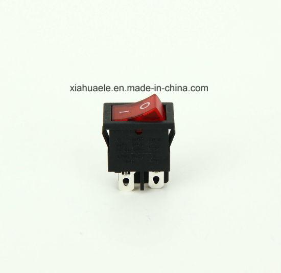 Kcd1-F4n on-off 4 Pins T85 Micro Rocker Switch