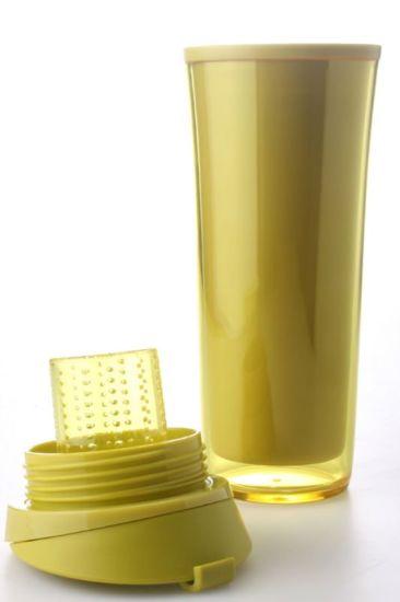 2020 Golden Yellow Plastic Travel Mugs