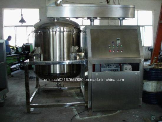 1300L Vacuum Emulsifier Mixer Hydraulic Lifting (ZJR-1300)