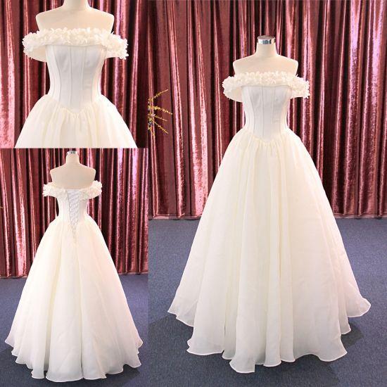 2018 Off the Shoulder Wedding Dress