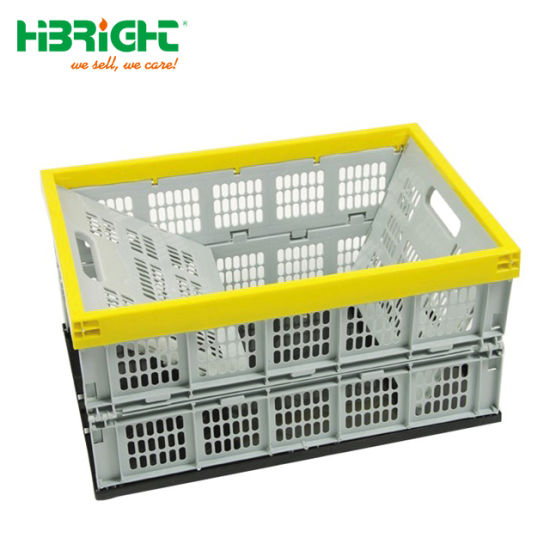 Collapsible Plastic Storage Bins Folding Plastic Box Folding Crate