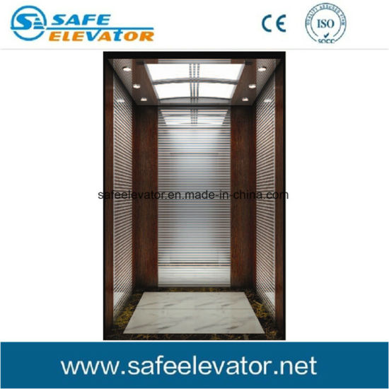 Luxious Mirror Finish Hotel Residential Home Villa Passenger Elevator Lift pictures & photos