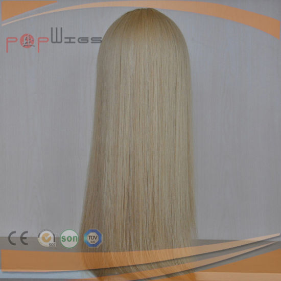 Full Blonde Hair Mono Women Hair System (PPG-l-01454) pictures & photos