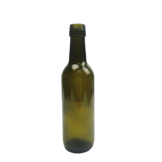 192ml Small Bottle Antique Green Wine Bottle with Screw Finish