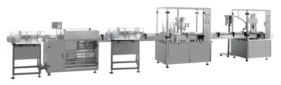 Sodium Chloride Injection Filling Production Line